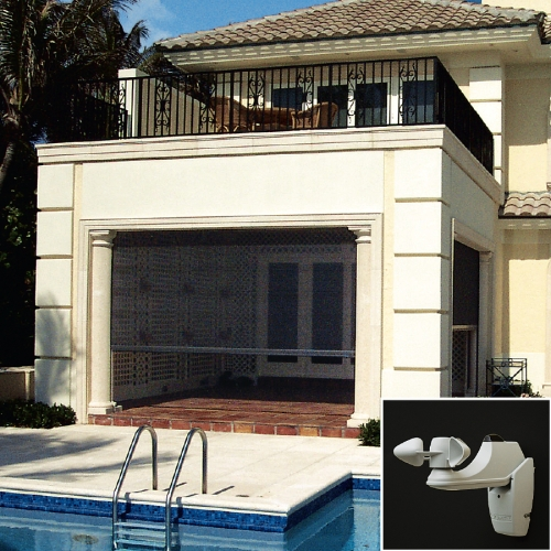 Executive motorized retractable screens retracting for Retractable screen solutions