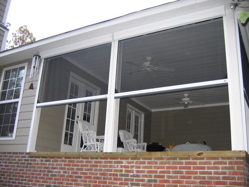 Image gallery executive motorized retractable screens for Retractable screen solutions