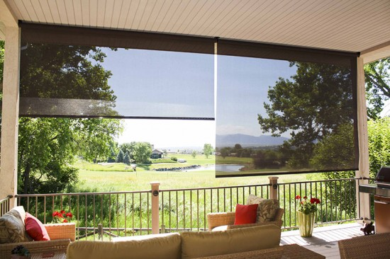 Oasis® 2600 Sun Shades cut the glare and enhance the view