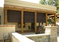 Oasis Patio Shades fit any decor