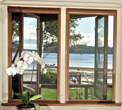 Serene retractable window screens retracting for Windows with retractable screens