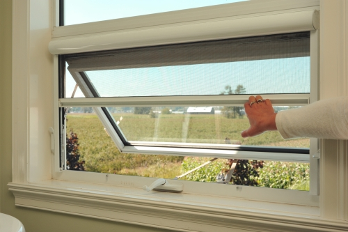 Serene retractable window screens retracting for Windows with retractable screens