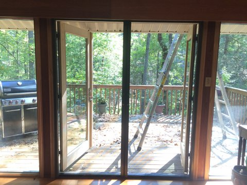 Practical french doors and the screens that love them for Screen door solutions for french doors